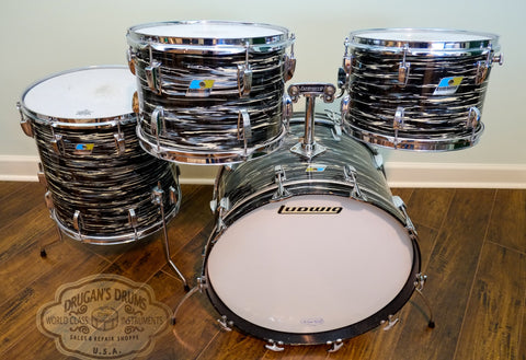 Ludwig 1973 Hollywood - Oyster Black Pearl
