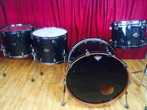 Tama Starclassic Bubinga Endorsement Set Galaxy Sparkle