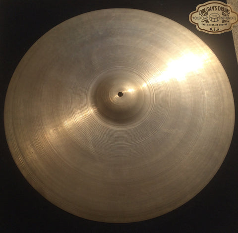 "21″ Zildjian A 1950s Trans Stamp ""Sweet Ride"" Ride Cymbal 2144g – Inventory # 171"