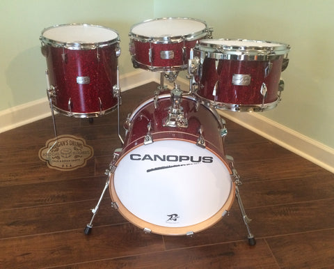 Canopus New Yaiba Bop Set - Dark Red Sparkle