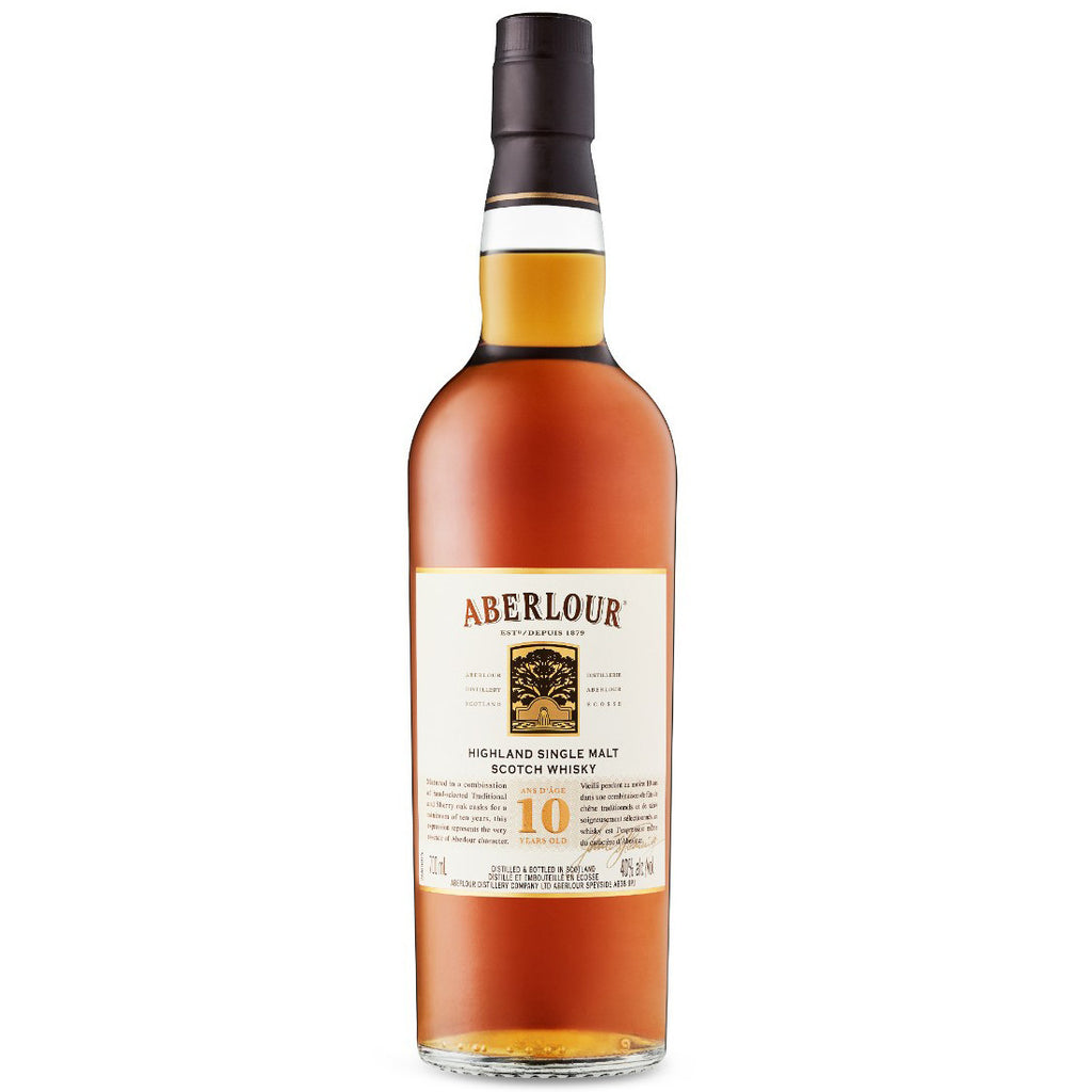 Aberlour 10 Yo Single Malt Scotch Whisky | Gifty by The Breaking Heart