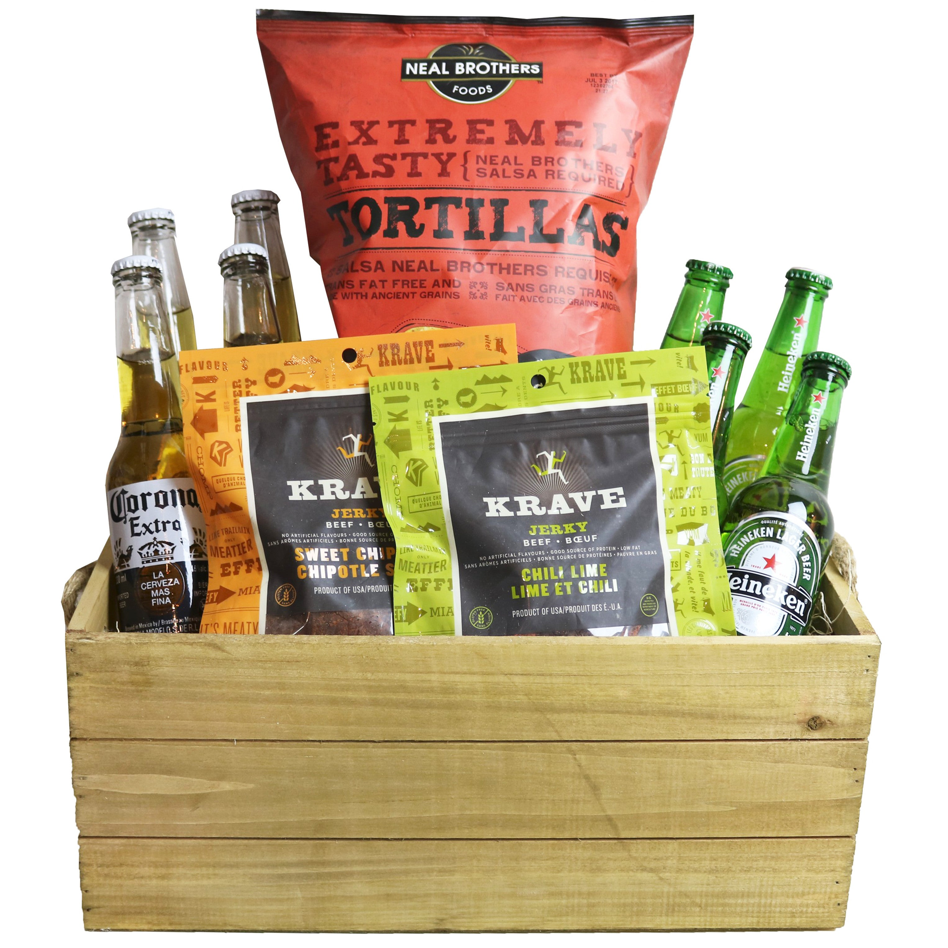 Casual Friday Basket | Gifty by The Breaking Heart