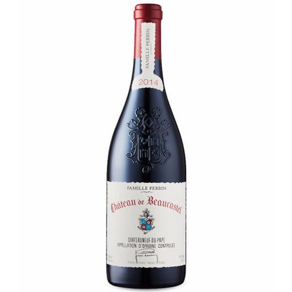 Château de Beaucastel Châteauneuf-du-Pape 2014 | Gifty by The Breaking Heart