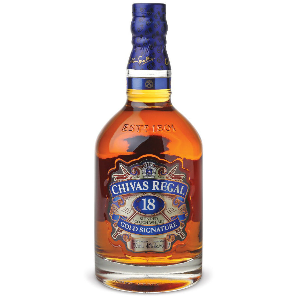 Chivas Regal 18 Year Old Scotch Whisky | Gifty by The Breaking Heart