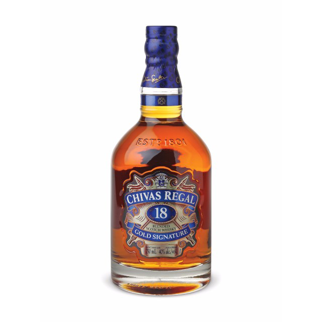Chivas Regal 18 Years Old Scotch Whisky | Gifty by The Breaking Heart
