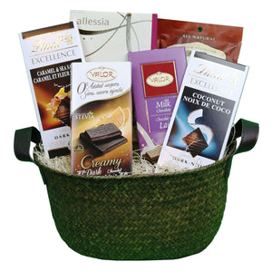 Chocolate Lover's Basket | Gifty by The Breaking Heart
