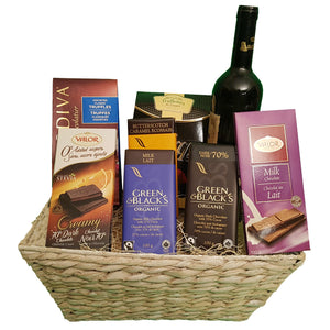 Chocolicious Basket | Gifty by The Breaking Heart