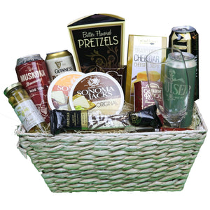 Gratitude of Beer Lovers Basket | Gifty by The Breaking Heart