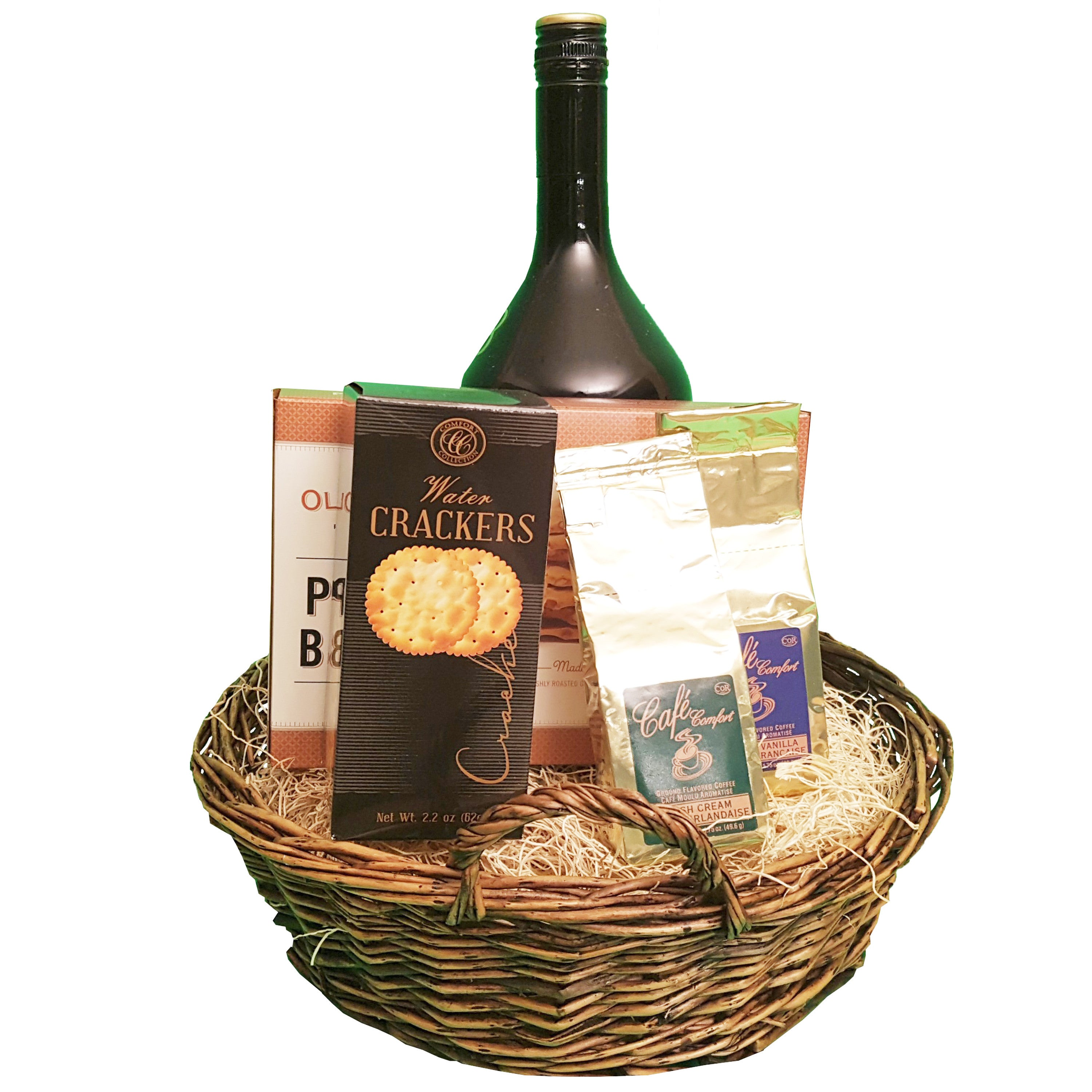 Irish Coffee Delight Basket | Gifty by The Breaking Heart
