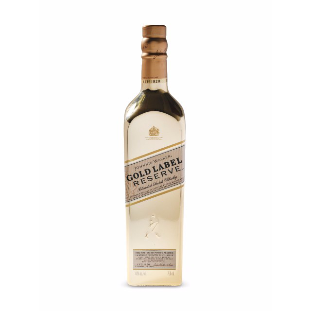 Johnnie Walker Gold Label Reserve Bullion Bottle | Gifty by The Breaking Heart