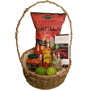 Mexican Night Basket | Gifty by The Breaking Heart
