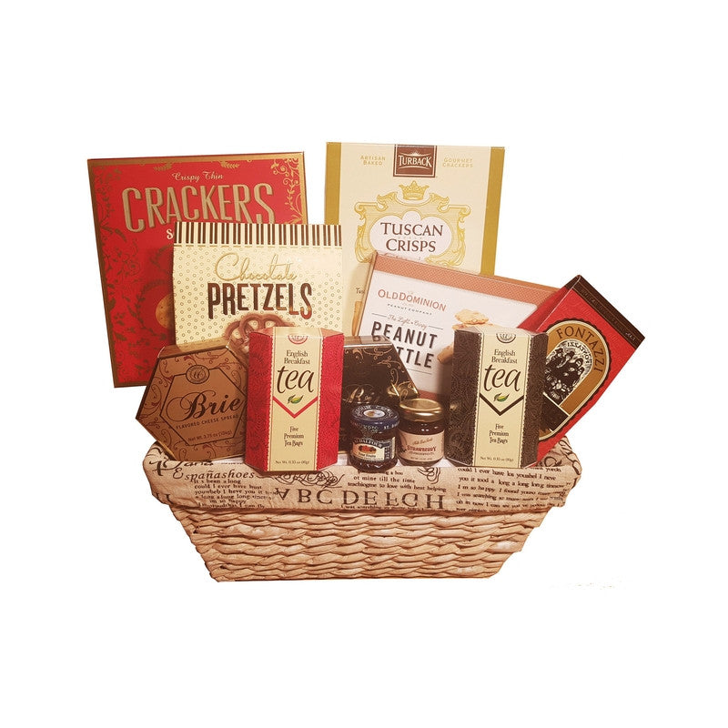 Red Streak Basket | Gifty by The Breaking Heart