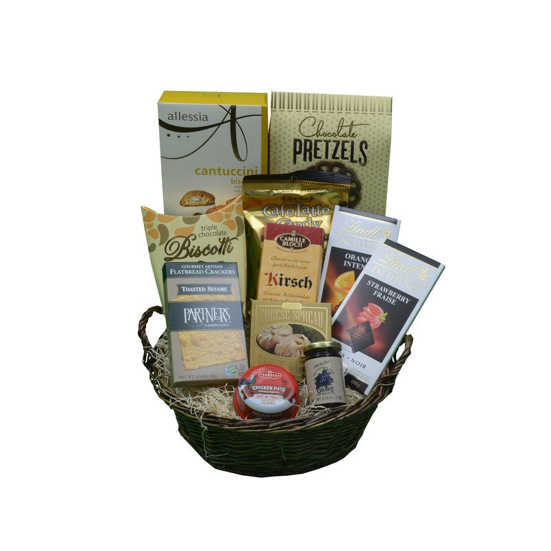 Toast to a New Beginning Basket | Gifty by The Breaking Heart