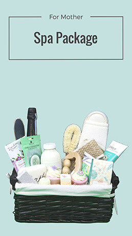 Unique and hand chosen Spa baskets