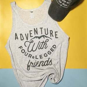 Adventure with Four Legged Friends Top (T-Shirt or Tank)