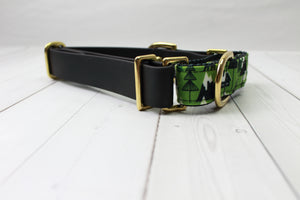 Biothane + Canvas Martingale Collar