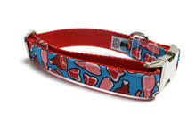 Meat Canvas Dog Collar