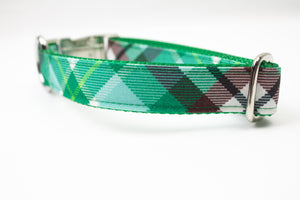 Summer Meadow Canvas Dog Collar