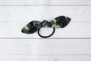 Camo Headband, Scrunchie or Hair Bow