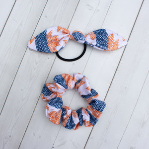 Harvest Denim Headband, Scrunchie or Hair Bow