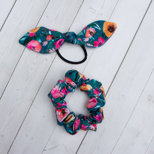 Harvest Bloom Headband, Scrunchie or Hair Bow