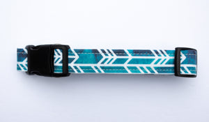 The Rio Cotton Fabric Dog Collar