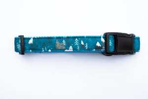 Midnight Forest Canvas Dog Collar
