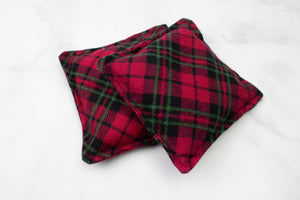 Red Plaid Hand Warmers