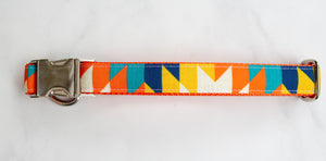 The Sedona Canvas Dog Collar