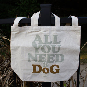 All You Need Is Dog Canvas Tote Bag