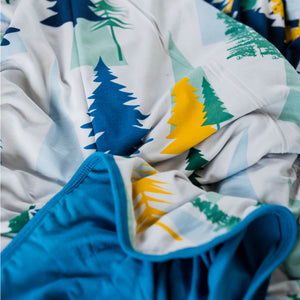 Into The Forest Oversized Cozy Blanket