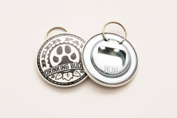 Beer Paws Bottle Opener (for leash, collar, purse, etc)