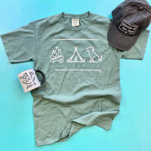 Camp Vibes (T-Shirt or Long Sleeve Shirt) - ready to ship