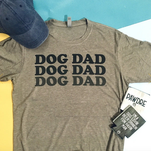 Dog Dad Faded T-Shirt