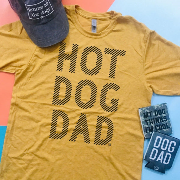 Hot Dog Dad Faded T-Shirt
