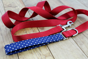 Cotton Fabric Leash