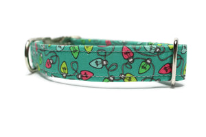 Holiday Lights Dog Collar