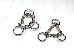 Upgrade Collar to a Silver Check Chain Martingale
