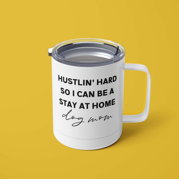 Hustlin' Hard Mug with Lid