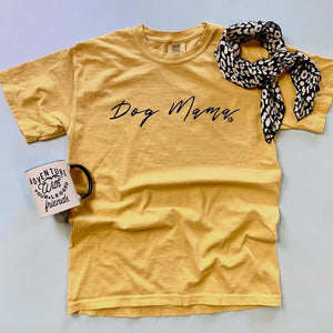 Mustard Dog Mama T-Shirt (2XL only)