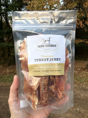 Turkey Jerky by Farm Hounds