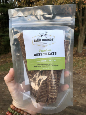 Beef Treats by Farm Hounds
