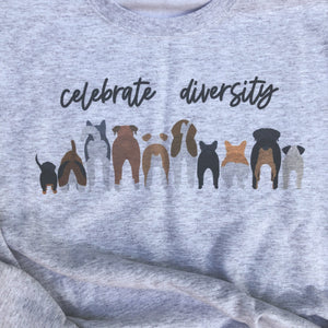 Celebrate Diversity Sweatshirt - ready to ship