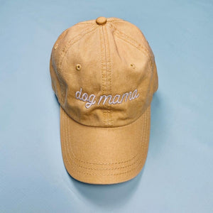 Yellow Dog Mama Embroidered Hat