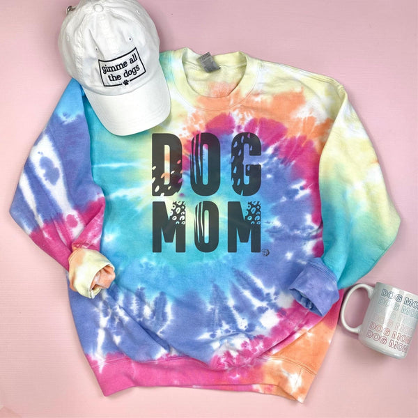 PREORDER Wild Dog Mom Tie Dye Sweatshirt