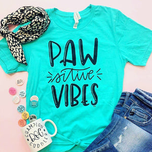 Pawsitive Vibes T-Shirt (small only)