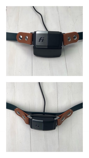 "Fi Compatible Side Release Buckle Waterproof Biothane Dog Collar (3/4"" and 1"")"