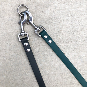 Biothane Detachable Leash Extender + Coupler