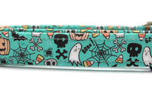 Halloween Graffiti Dog Collar
