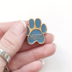 Mutts Enamel Pin